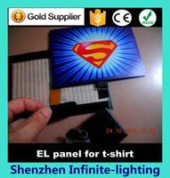 Wholesale Flexible el Panel /flashing Panel/flashing Equalizer Panel for tshirt