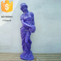 Life size elegant nude woman statue for home decor