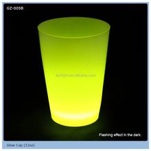2015 new bar favor 12oz glow cup