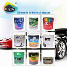 Hot sale used for car body filler putty indentation/chemical body filler supplier