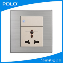 2015 lighting wall switch whoelsale 1 gang 1 way switch and universal socket
