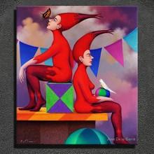 Jose DelaBarra painting fine art painting modern style