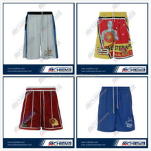 2015 Custom Top Quality Fully Professional Basketball Shorts for Team