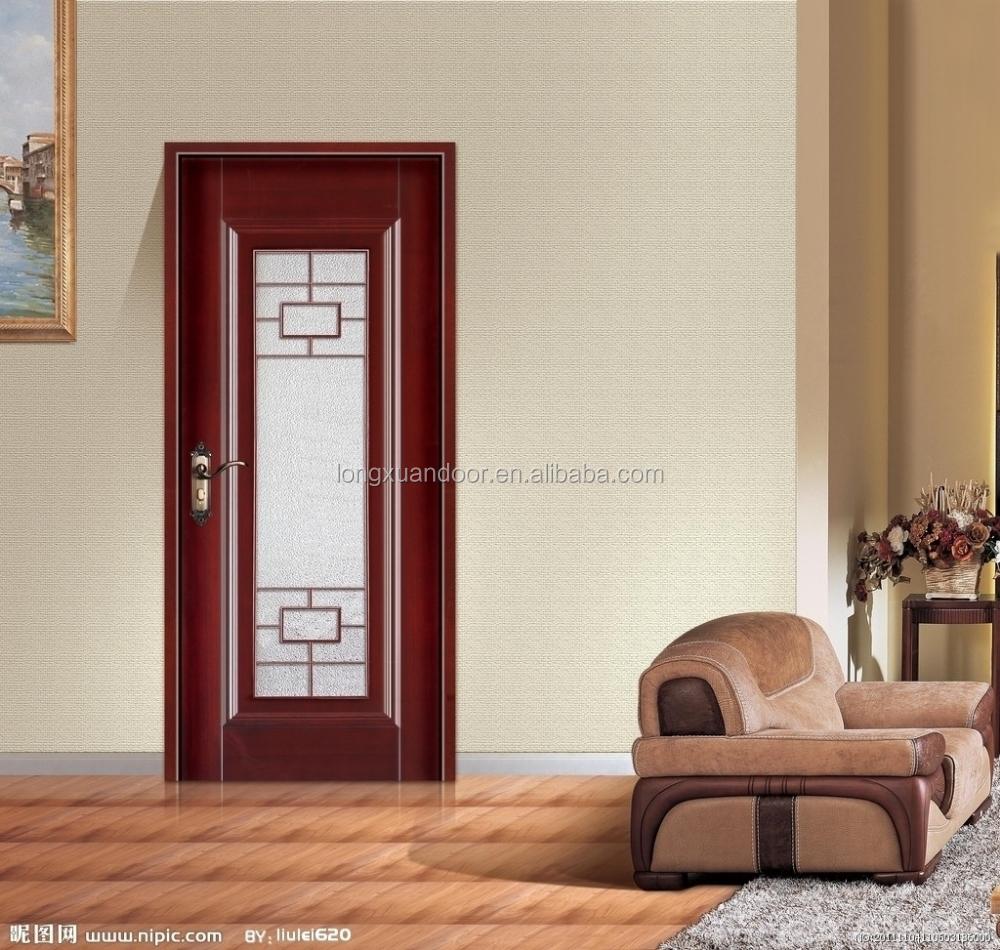 Wood glass door design wood bedroom door interior wood - Wooden doors for bedrooms ...