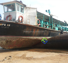 Export to Batam With launching plan marine pneumatic ship rubber airbags for moving and landing