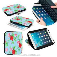 Stand function Tablet Neoprene sleeve / table bag