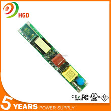 Factory price non-Isolated/High t5 led tube driver with 5 years warranty