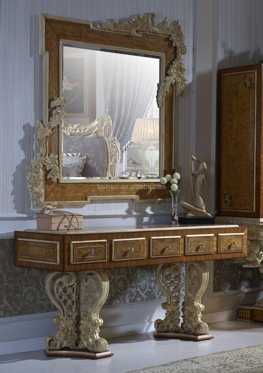 Bisini luxe meubels, slaapkamermeubilair set/italiaanse klassieke ...