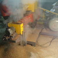 pet food processing machines floating fish feed pellet making machine 86-15003847743