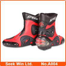 Venta al por mayor A004 Motocross deportes Botas de moto Botas hombres Motocycle raza zapatos
