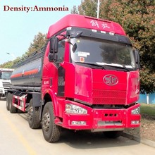 chengli cheap 8X4 19000 liters chemical liquid tanker delivery truck from China