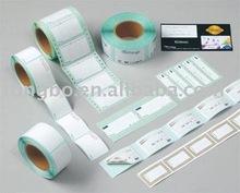 Private No Print White Blank Paper Plain Self Adhesive Label