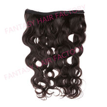 GUANGZHOU FACTORY flip in hair prijzen flip hair salon extension