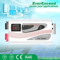 EverExceed Grid-off 5000W Pure Sine Wave Solar Charge Inverter for solar system with high power factor