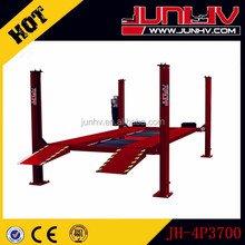 JUNHV brand used electric four post car liftJH-4P3700