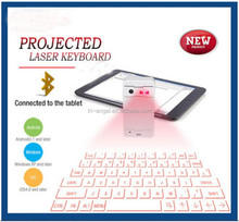 mini wireless keyboard with touchpad,Virtual Laser Projected USB Bluetooth Keyboard & Touchpad (red Laser)