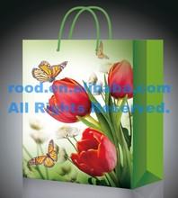 Handbag shape eco-friendly fancy paper gift bag, decorative paper bag for gift