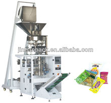 JT-420C automatic Sugar pet food dried fruit nut popcorn packaging machine