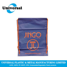 Best sale plastic full printing drawstring bag