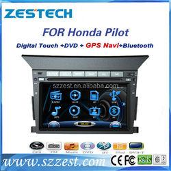 ZESTECH car dvd player for honda pilot with gps navigation
