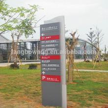 Public display publicidad pilón letrero