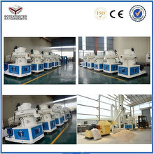 lubrication bearing system high quality CE certification industrial wood pellet machine