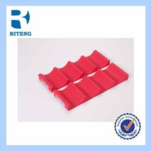 Silicone beer mat for fridge organization