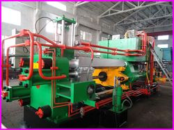 production of aluminum line