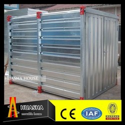 Small Scale Steel Sheet Metal House