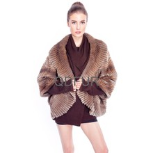 a80148 verdadero punto muskrat abrigos de piel chaqueta de piel