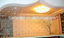 El último de la cortina de la moda diseños, artesanías de cristal cortinas, cortinas