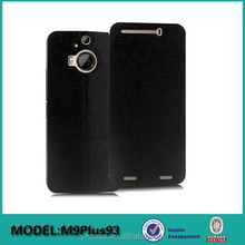Ultra thin stand leather case for HTC one M9 plus