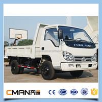 China foton brand diesel fuel 4ton capacity mini truck 4x4 low price sale