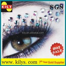 Hot Sale bling Crystal rhinestone eyeshadow stickers, Tattoo Sticker,Eyebrow decoration sticker