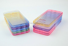 mobile phone accessories colorful acrylic case for s6 mobil phone