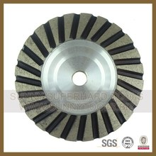 Diamond Turbo Cup grinding wheels for wet or dry grinding (SY-WP-019)