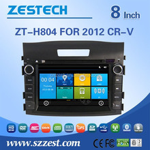 car dvd player with gps for honda crv 2012 with steering wheel control rearview camera bluetooth 3G radio
