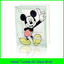 manufacture hollow glass brick by glass brick making machine