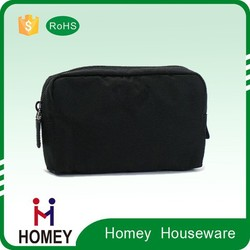 Factory Supply black Vanity bagTraveling Cosmetic Bags beauty bag