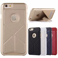 Transformers Magnetic PU Leather Cover Case For iPhone 6 6s