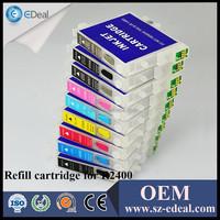 Refillable cartridge for Epson stylus photo R2400 printer