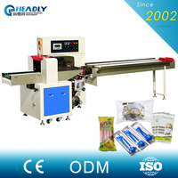 Shopping Online Websites Wrapping Horizontal Flow Packing Machine For Ice Lolly