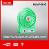 Portable Handy USB LED Fan with USB for charging rechargeable Mini Fan