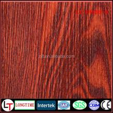 Turkey wooden grain pvc decorative fim for photo frame