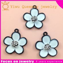 Wholesale antique silver Alloy Blank Tray Pendant Charms fit 25mm Cabochons