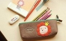 Felt Beautiful Girl Pencil Bag