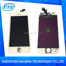2015 hot sale mobile phone for iphone 5 display for lcd screen for iphone 5, for iphone 5g lcd
