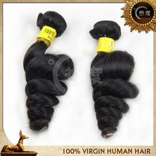 Brazilian wholesale hair hair sew, unprocessed human hair weave export, brazilian loose wave hair