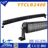 auto parts china manufacturer 240w double row led motorcycle Anti-Water light bar extrusion