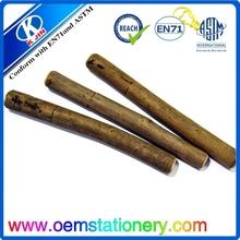 wooden ballpoint pen /Creative ecological bark wooden ball pen for promotion/environmental ball pen